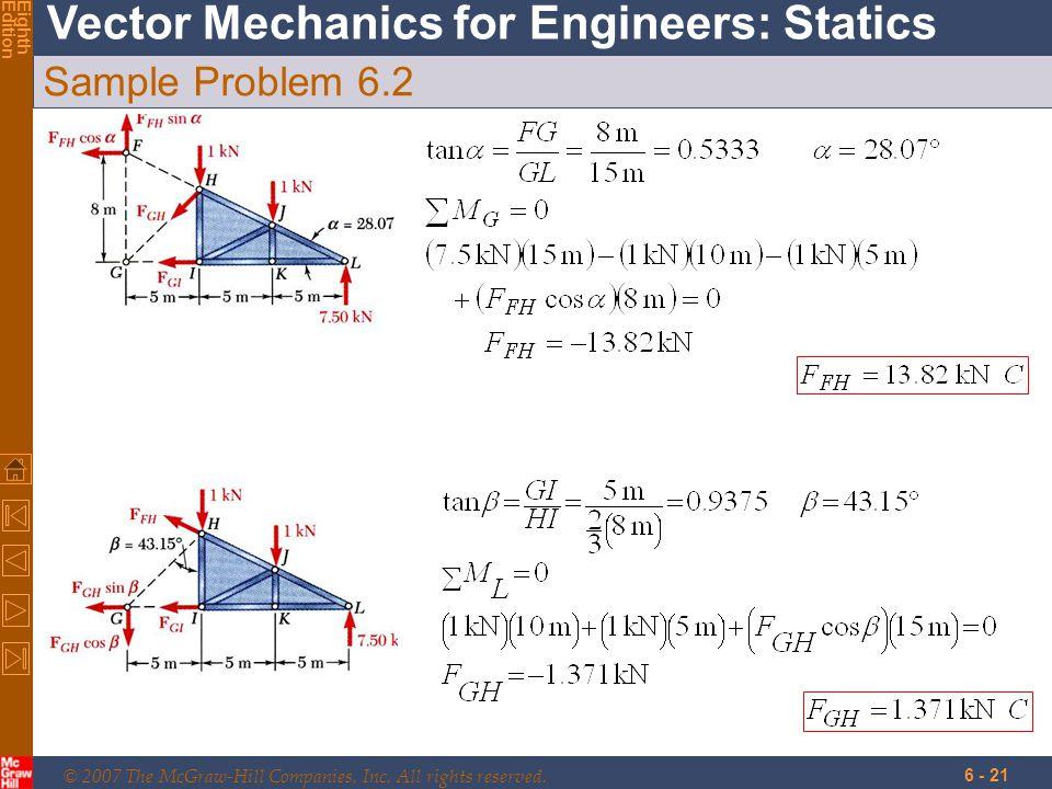 Sample Problem 6.2