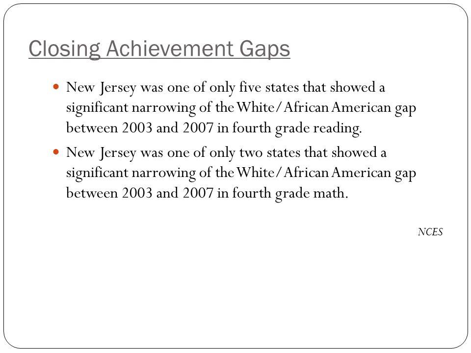 Closing Achievement Gaps