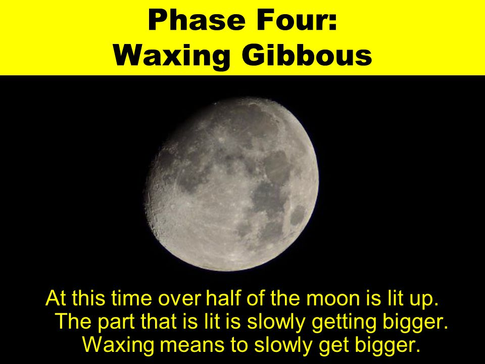 Phase Four: Waxing Gibbous