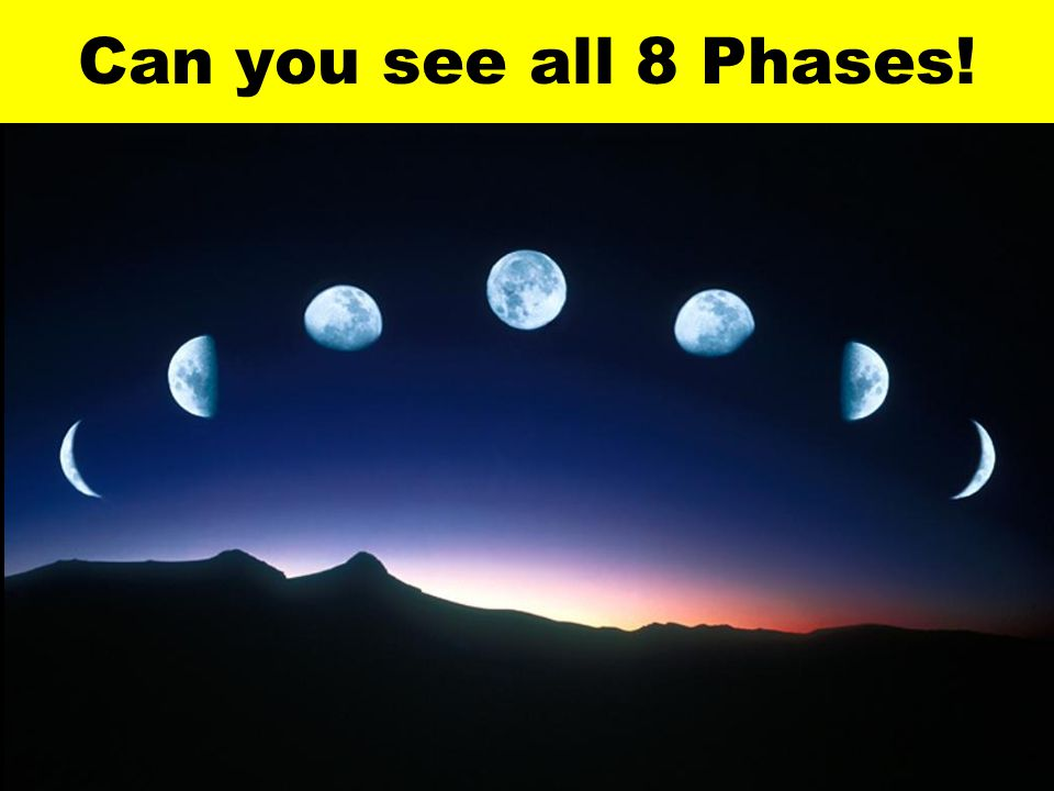Can you see all 8 Phases!