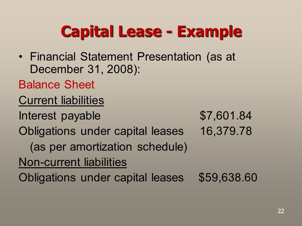 capital lease Serving both consumers and dealers, chrysler capital provides full-service auto finance and leases for chrysler, dodge, jeep , ram and fiat vehicles.