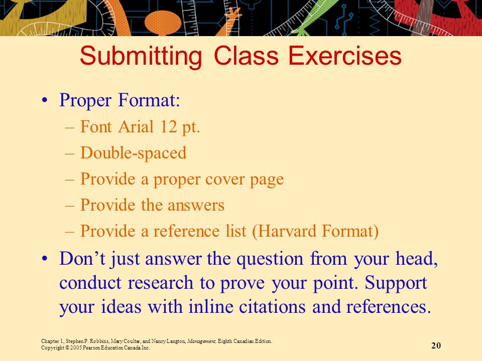 Submitting Class Exercises