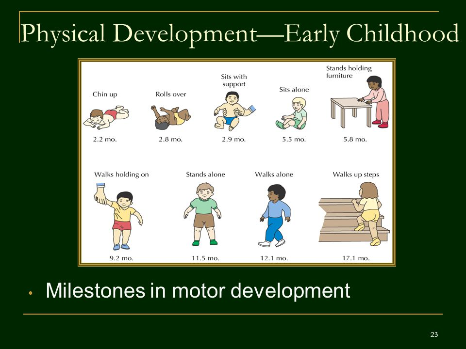 Physical Development—Early Childhood