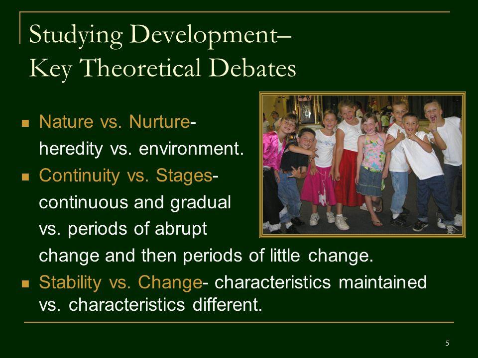 Studying Development– Key Theoretical Debates