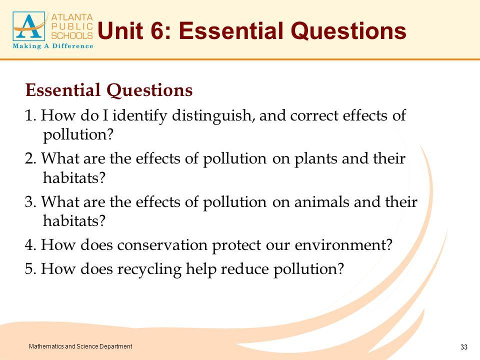 Unit 6: Misconceptions Misconceptions Proper Conceptions