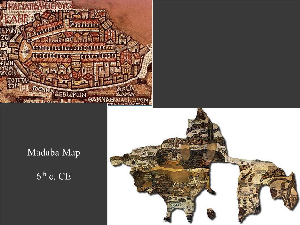 Madaba Map 6th c. CE
