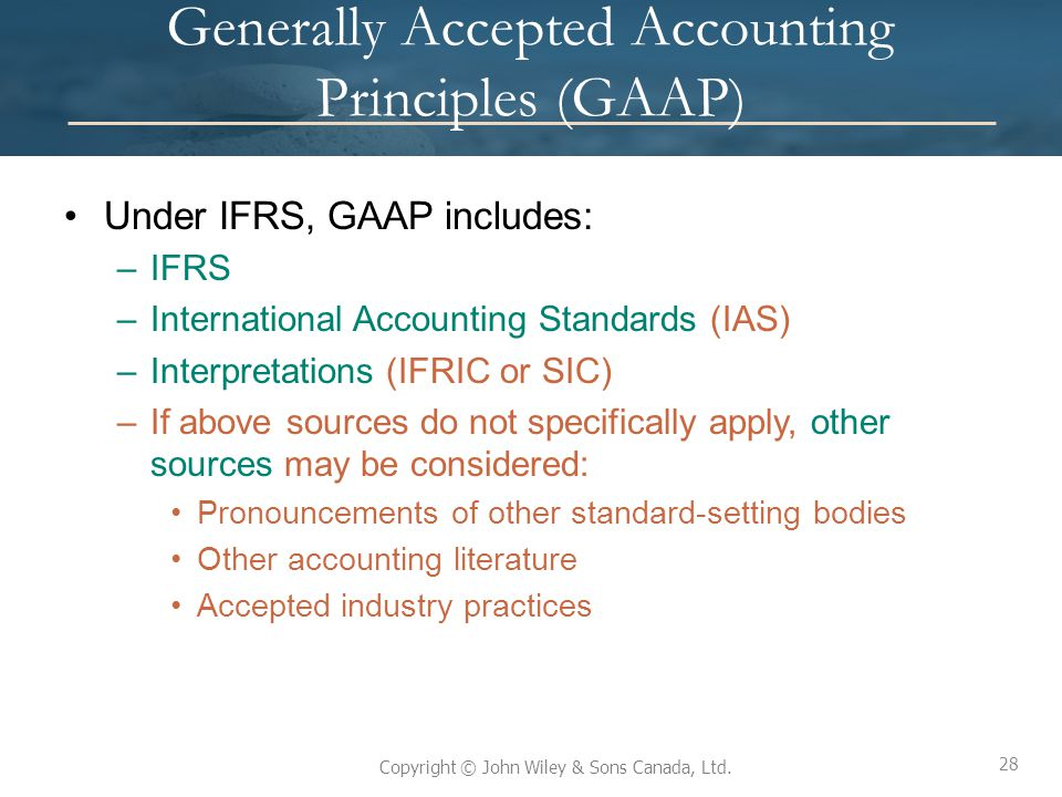 general accepted accounting principles The basic postulates and broad principles of accounting comprehended in the term generally accepted accounting principles which pertain to business.