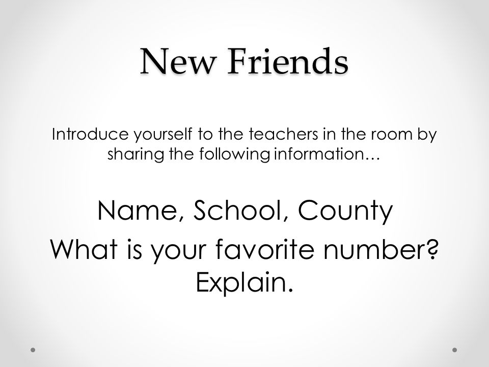What is your favorite number Explain.