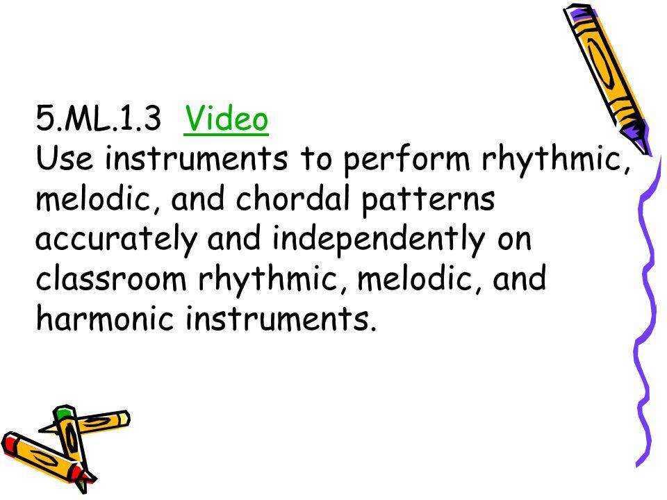 5.ML.1.3 Video