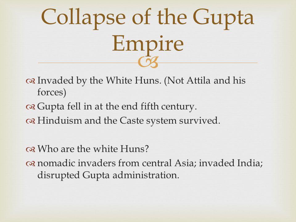 Collapse of the Gupta Empire