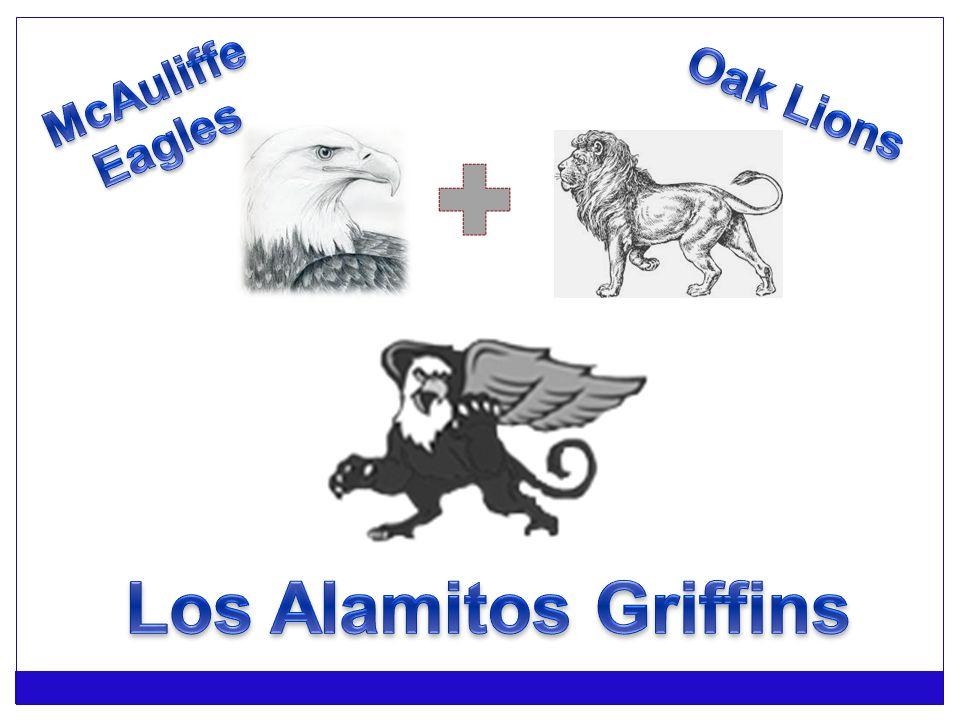 McAuliffe Eagles Oak Lions Los Alamitos Griffins
