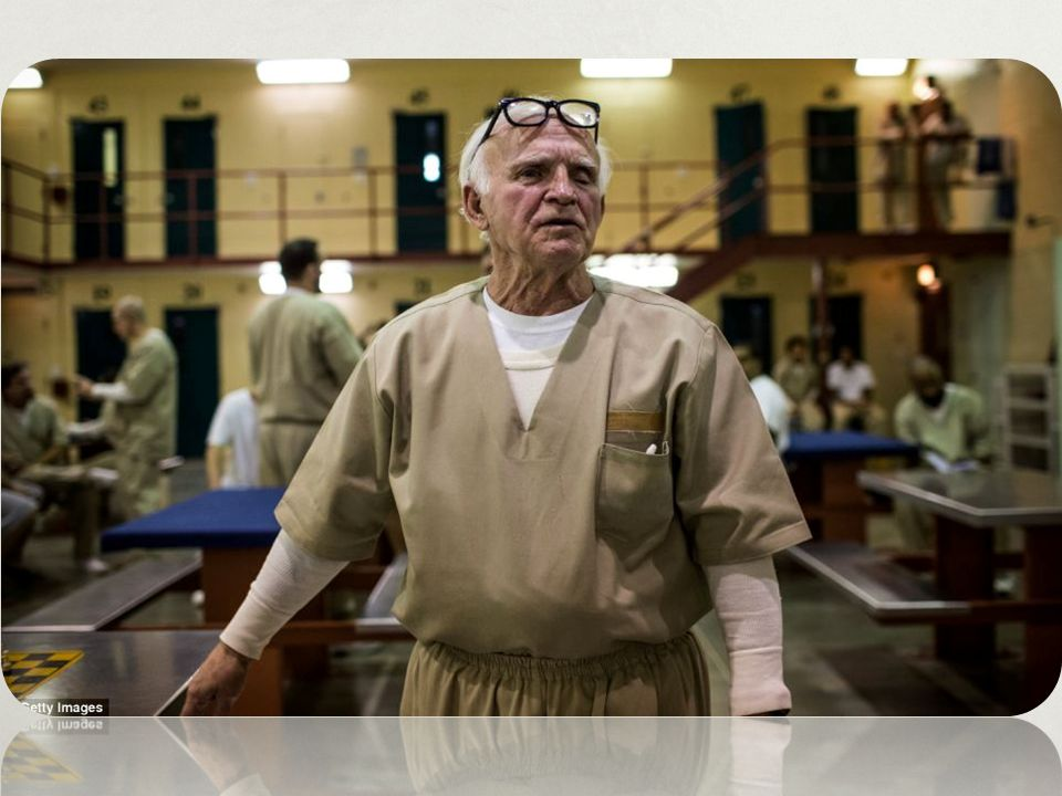 Nathan Brown is one of the oldest prisoners at Rhode Island s John J
