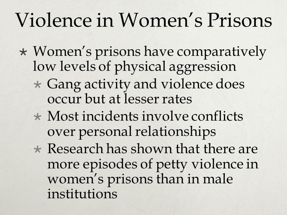 Violence in Women's Prisons