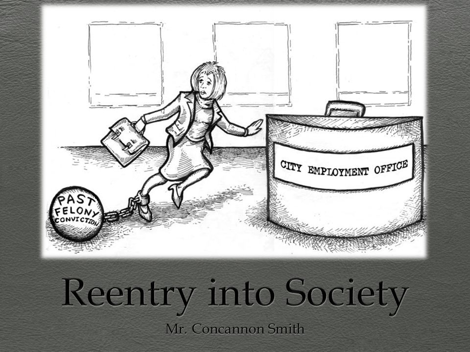 Reentry into Society Mr. Concannon Smith