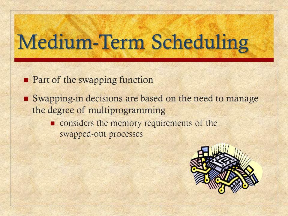 Medium-Term Scheduling