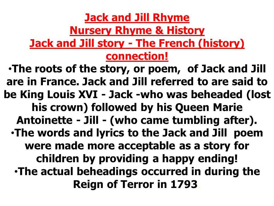 Nursery Rhyme & History