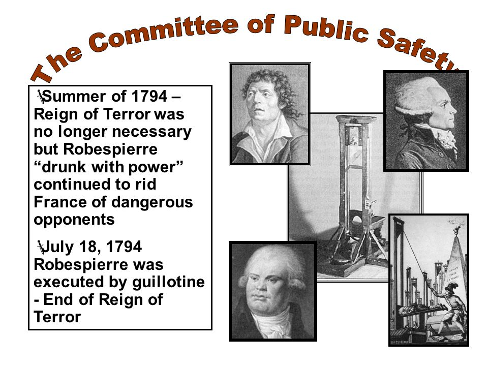 The Committee of Public Safety