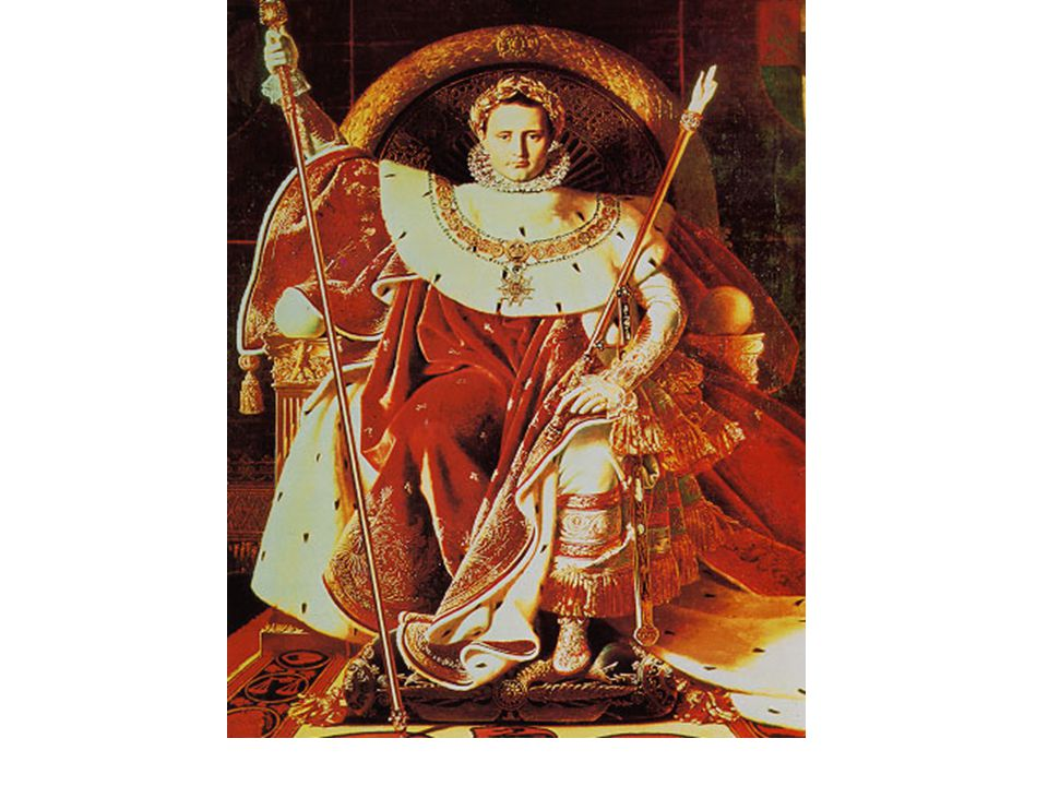 Napoleon, Emperor of France Ingres