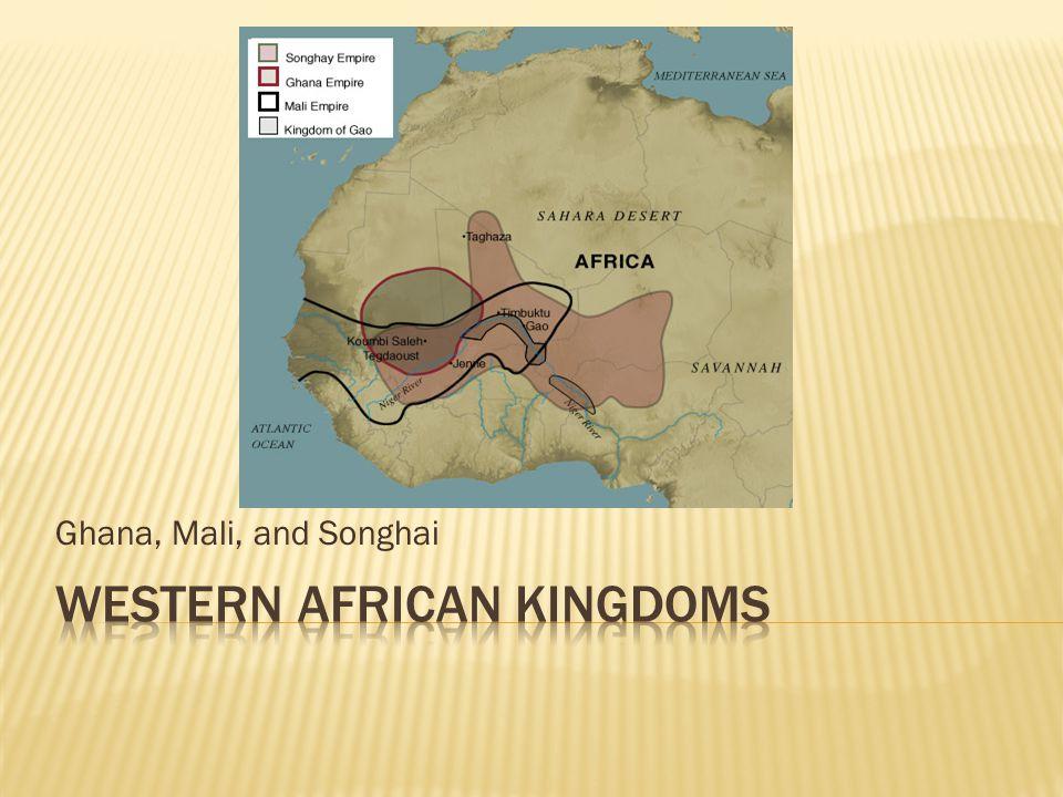 Western African Kingdoms
