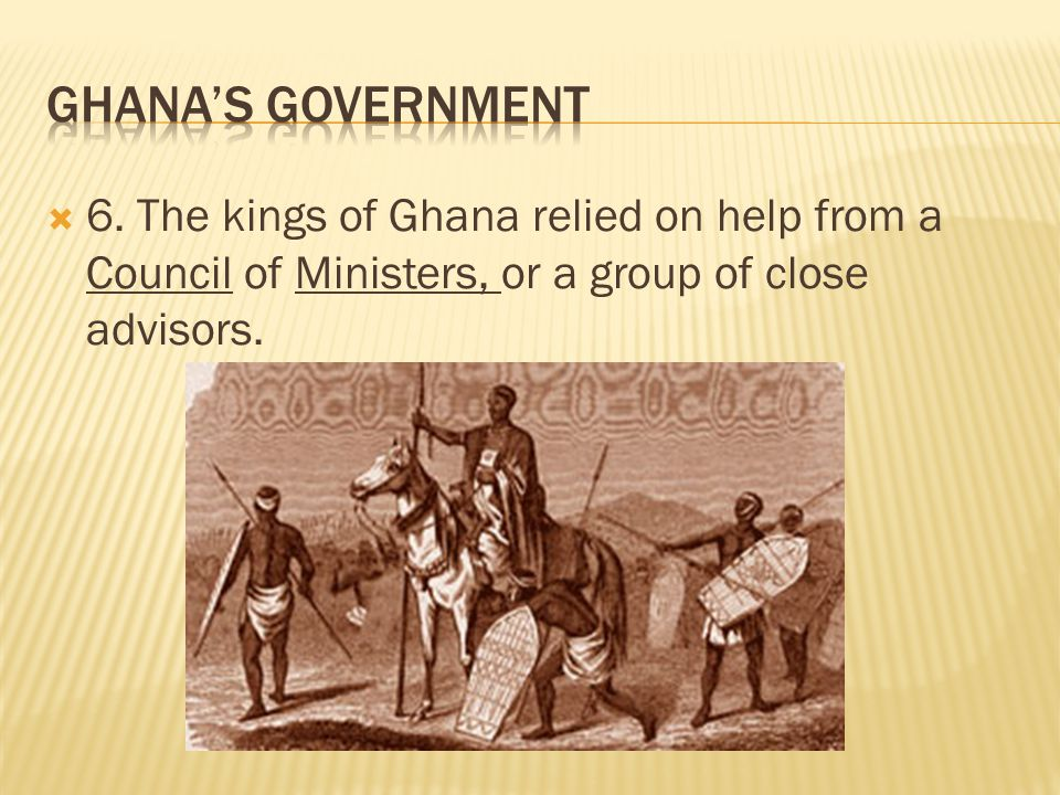 Ghana's Government 6.