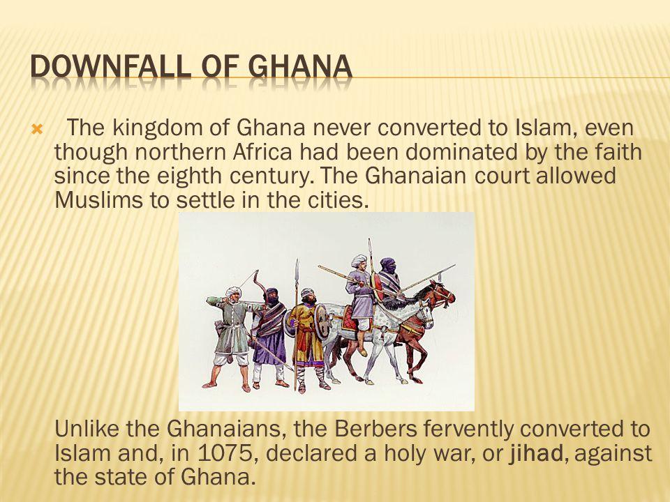 Downfall of Ghana