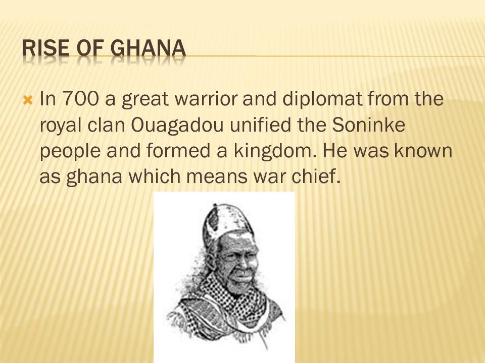 Rise of Ghana