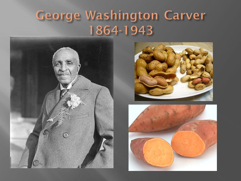 George Washington Carver 1864-1943