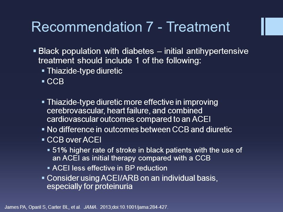 Recommendation 7 - Treatment