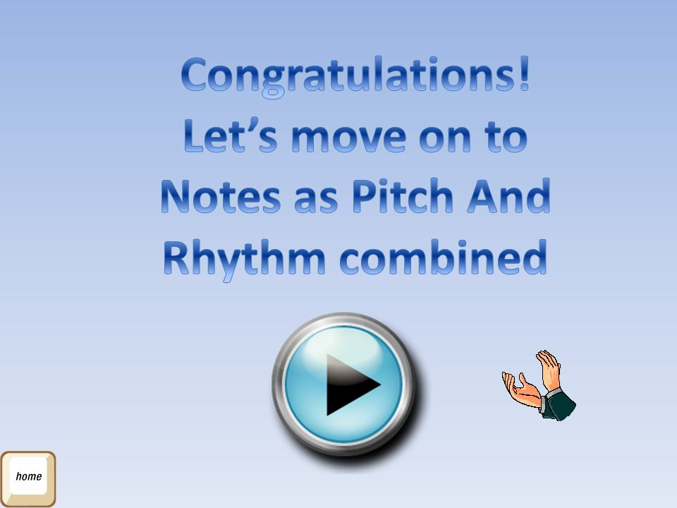 Notes as Pitch And Rhythm combined