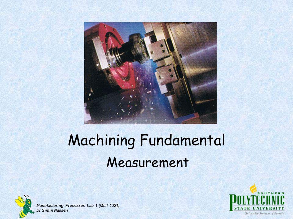 Machining Fundamental