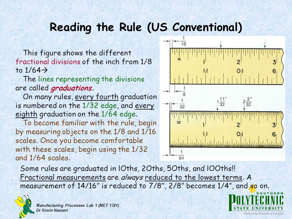 Reading the Rule (US Conventional)