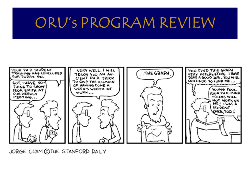 ORU's PROGRAM REVIEW