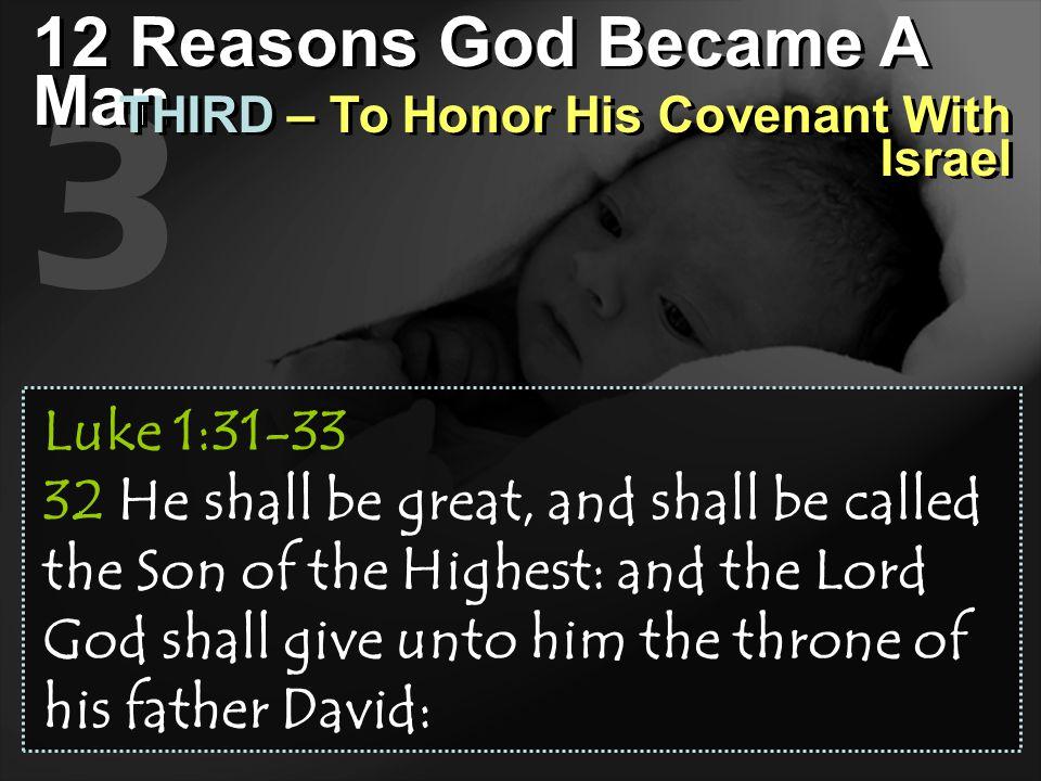 3 12 Reasons God Became A Man
