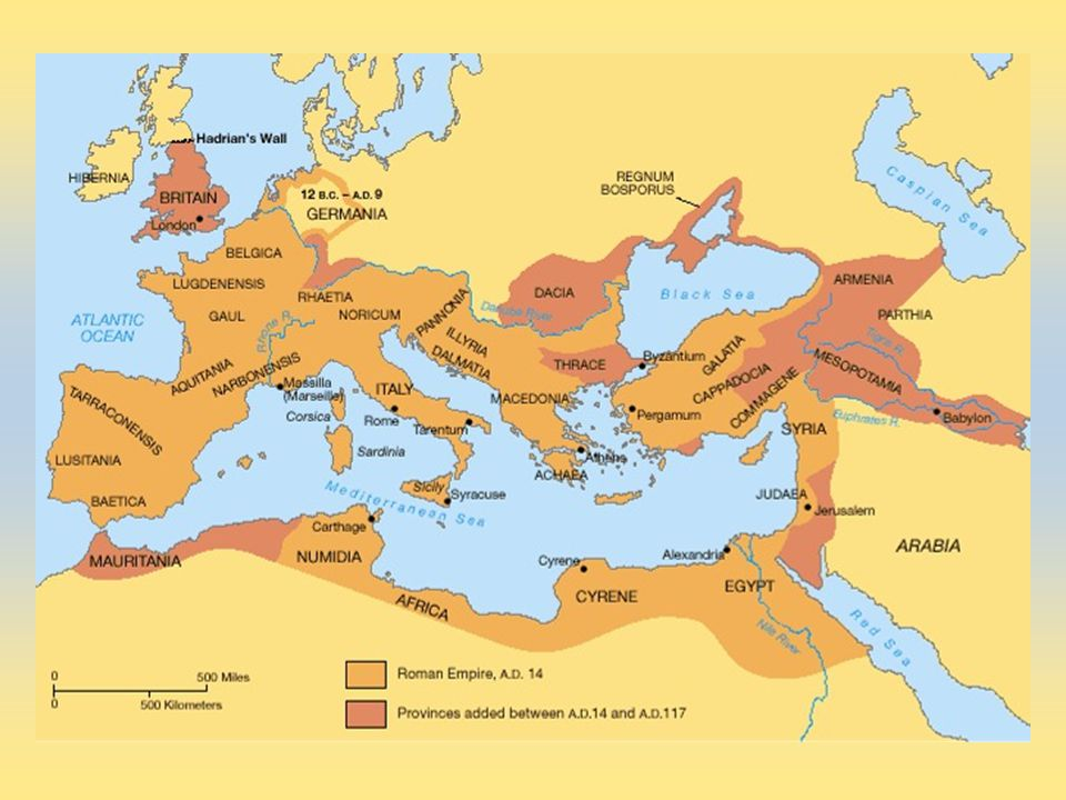 Roman Empire at it's largest
