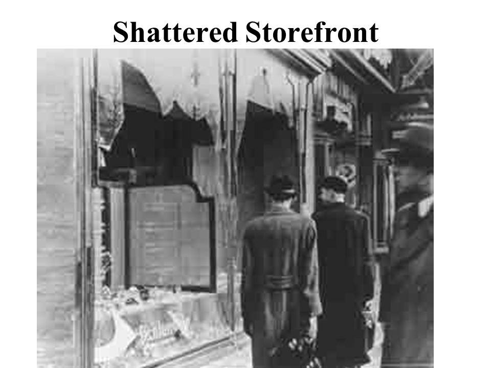 Shattered Storefront