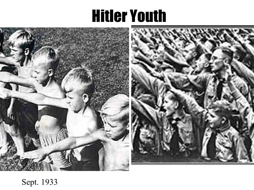 Hitler Youth Sept. 1933