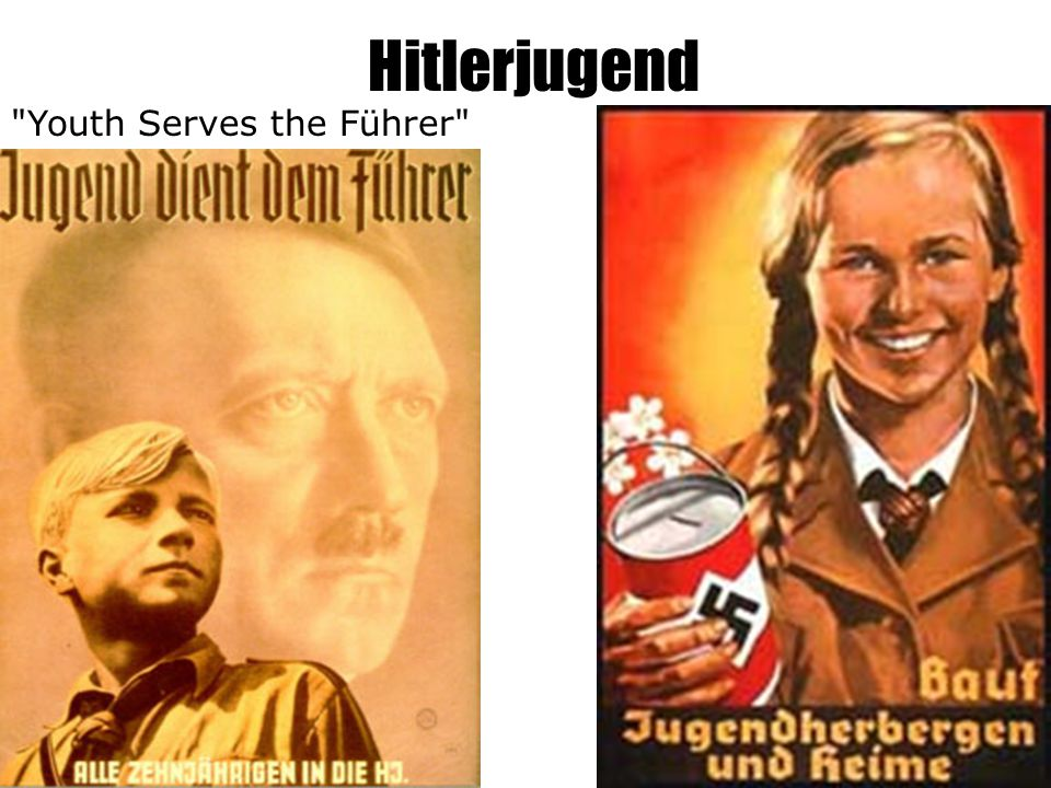 Hitlerjugend Youth Serves the Führer