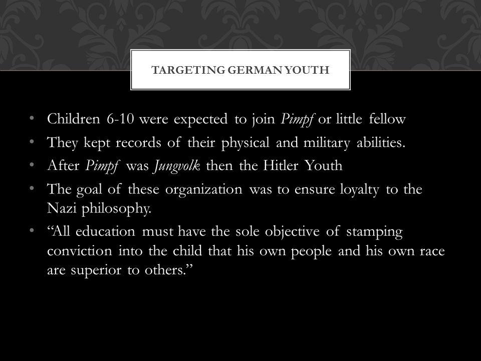 Targeting German Youth