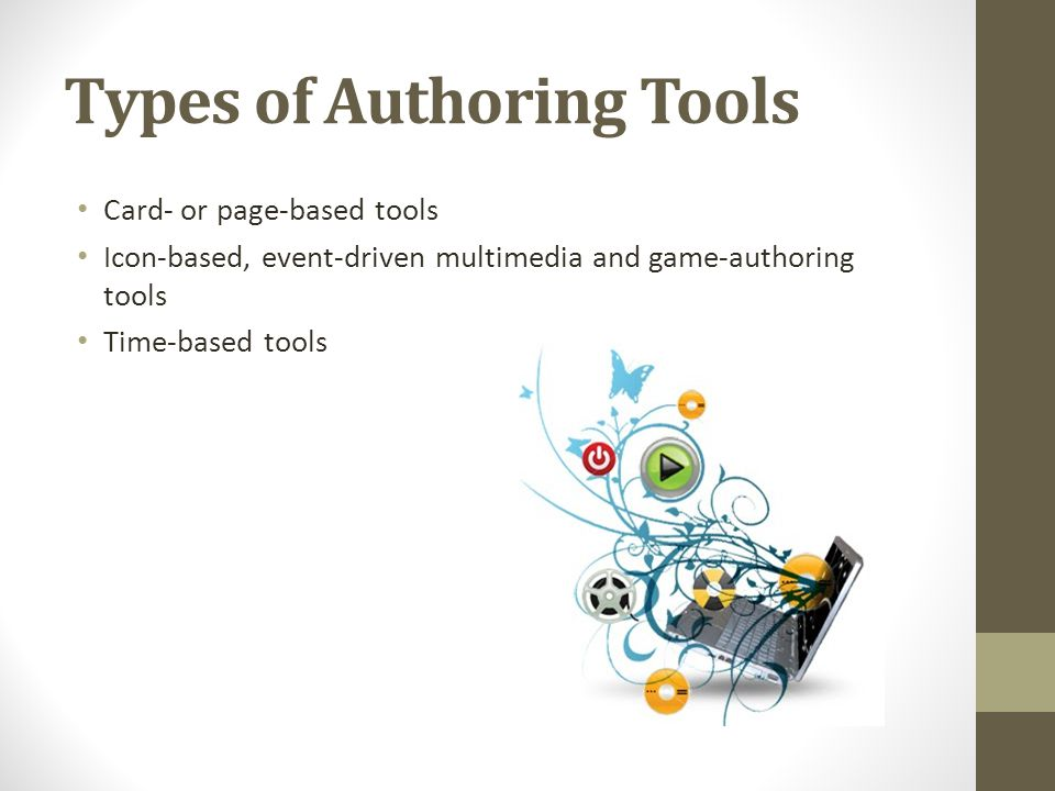Types of Authoring Tools