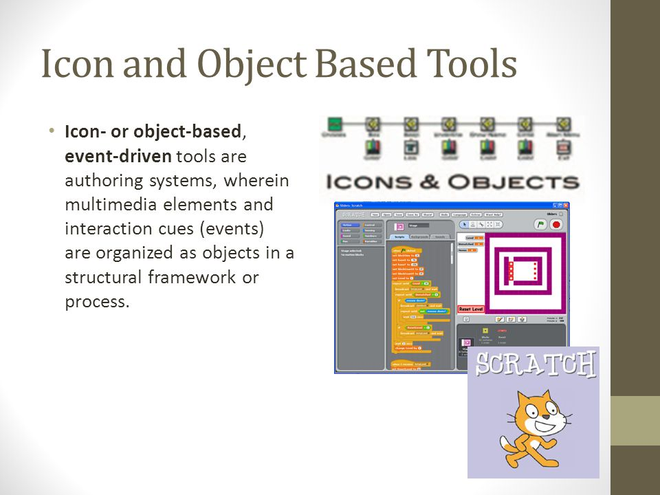 Icon and Object Based Tools