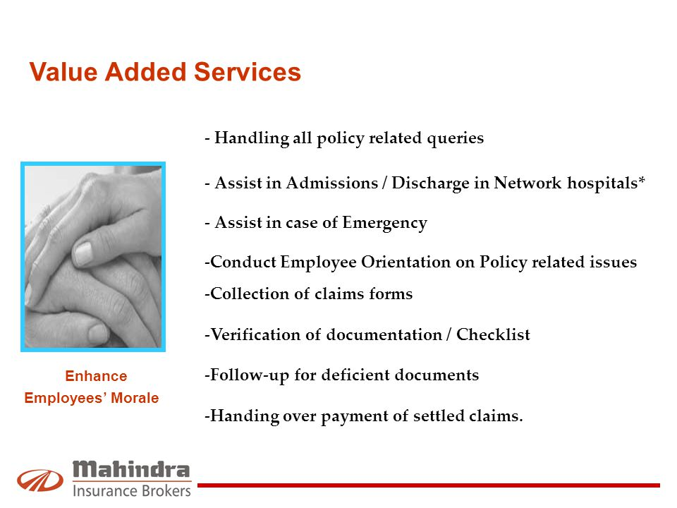 - Handling all policy related queries