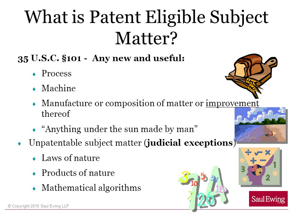 What is Patent Eligible Subject Matter