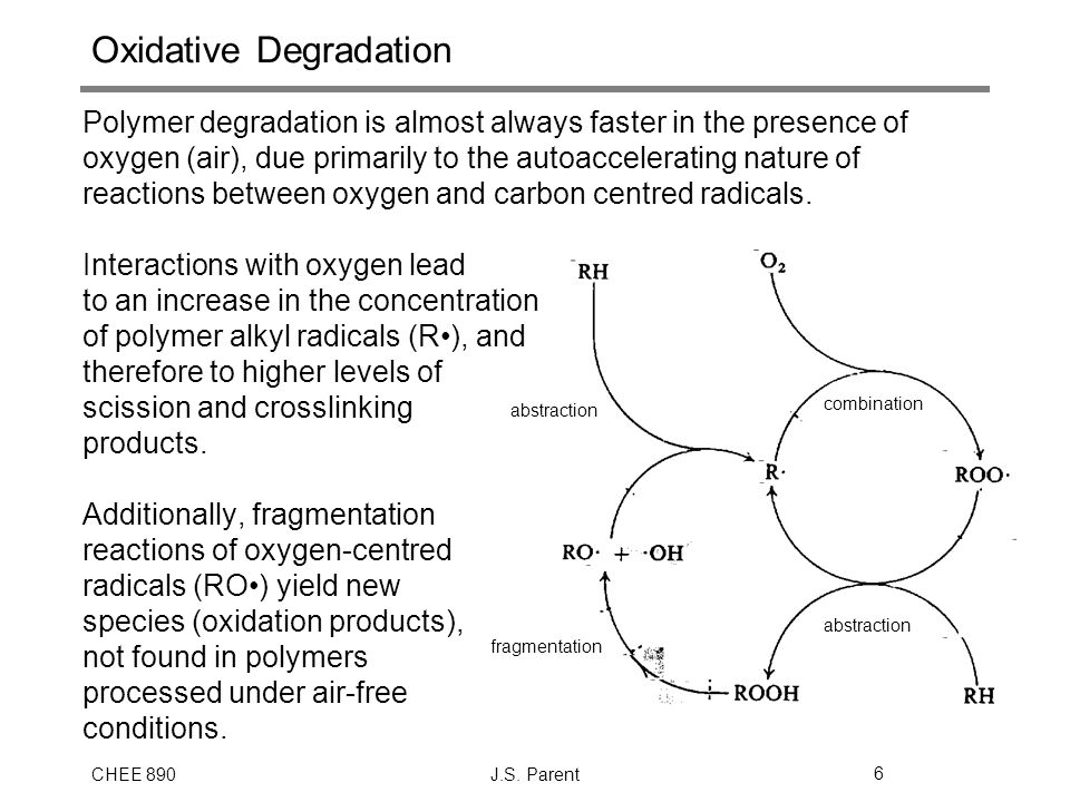 Oxidative Degradation