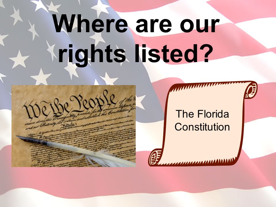 Where are our rights listed
