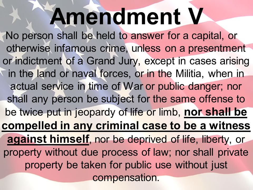 "the issue of the deprivation of life liberty or property without due process of law in the fifth and Or property, without due process of law  but the very substance of individual rights to life, liberty, and property"" the due  procedural due process."