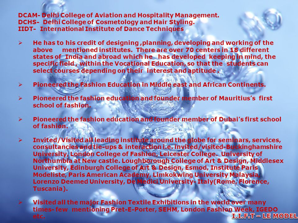DCAM- Delhi College of Aviation and Hospitality Management.