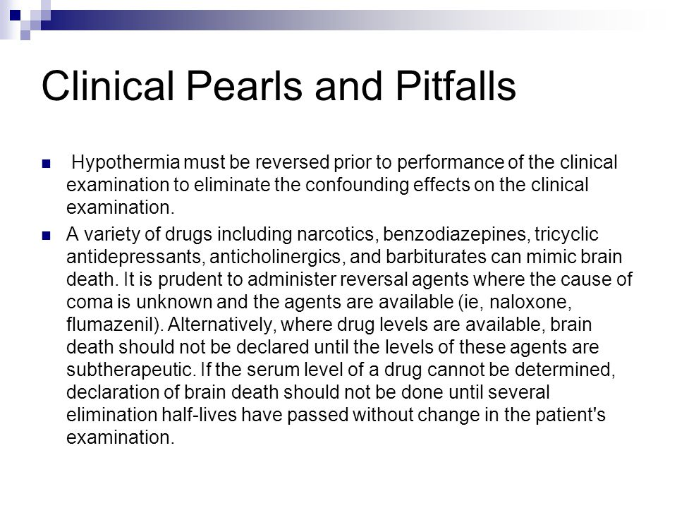 Clinical Pearls and Pitfalls