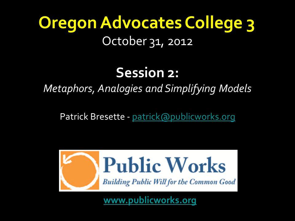Oregon Advocates College 3