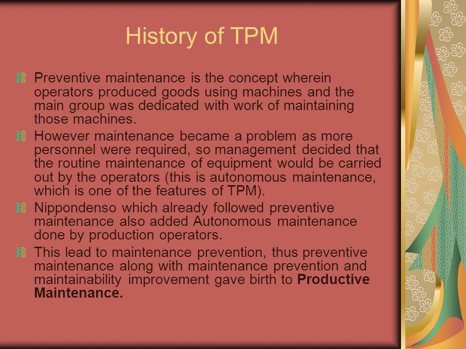 History of TPM