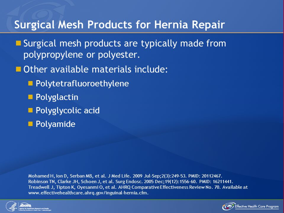 Surgical Mesh Products for Hernia Repair